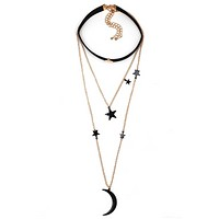 Fashion jewelry new velvet necklace chain necklace pendant