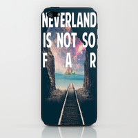 Take Me To Neverland iPhone & iPod Skin by Christa Morgan ☽