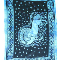 Celtic Unicorn Tapestry