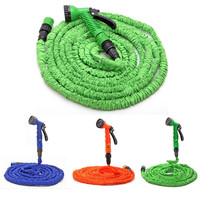100FT Expanding Flexible Garden Water Guns Anti-wear Water Hose With Nozzle Auto Car Washer diagnostic-tool