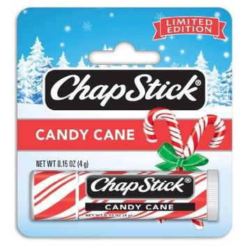 Chapstick Candy Cane, Peppermint, 0.15 Ounce (Pack of 6)