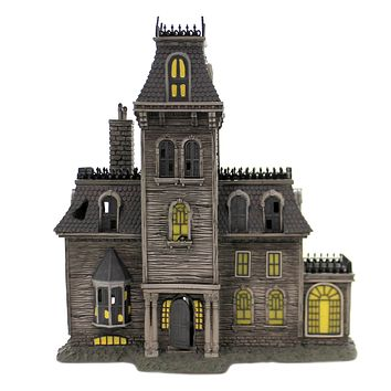 Department 56 House THE ADDAMS FAMILY HOUSE Polyresin Lighted Building 6002948