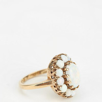 Urban Outfitters - Vintage Oval Opal Ring