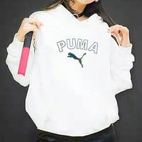 Trendsetter Puma Women Man Fashion Print Sport Casual Top Sweater Pullover Hoodie