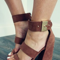 Take You There Heels: Mocha