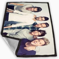 one direction design Blanket for Kids Blanket, Fleece Blanket Cute and Awesome Blanket for your bedding, Blanket fleece *
