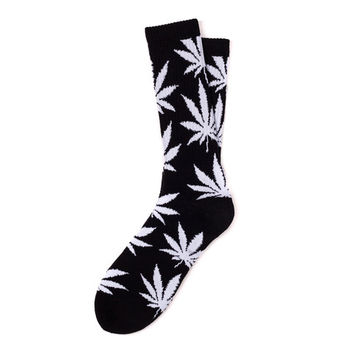 HUF - PLANTLIFE SOCKS FALL14 // BLACK / WHITE