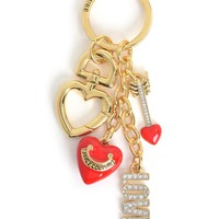 Gold Love Heart Keyfob by Juicy Couture, O/S