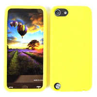 Unlimited Cellular Deluxe Silicone Skin Case for Apple iPod Touch 5 (Yellow)