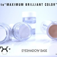 NYX Eyeshadow Base Eye Shadow Primer ALL 3 Colors