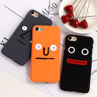Simple Funny Face Case for iPhone 7 7plus 6 6s Plus