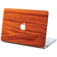 """Mahogany """"Protective Decal Skin"""" for Macbook 13"""" Laptop"""