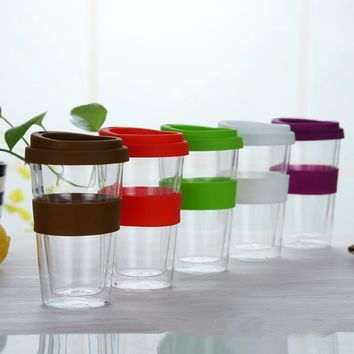 400ml Transparent Coffee Cup