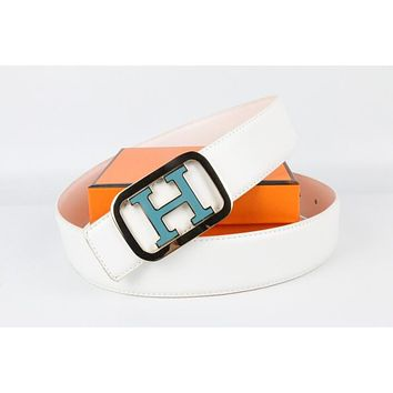 Hermes belt men's and women's casual casual style H letter fashion belt163
