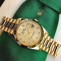Rolex Classic Hot Sale Men Women Quartz Watch Wristwatch