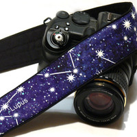Galaxy Camera Strap. dSLR Camera Strap. Canon Camera Strap. Cosmos Camera Strap. Camera Accessories.
