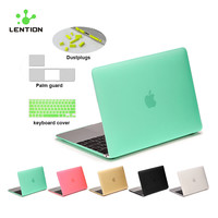 Ultra Protective Matte Hard Case Cute Shell Carry Cover Design Coque For Apple Macbook Mac Book Retina Air Pro 11 12 13 15 Inch
