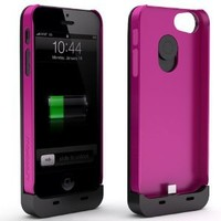 Maxboost iPhone 5S Case / iPhone 5 Case [Fusion Snap-On Case Series - Pink] Premium Coated Protective Hard Case for iPhone 5S / iPhone 5 (Fits All Versions of iPhone 5S & iPhone 5, AT&T, Verizon, Sprint)