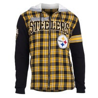 Pittsburgh Steelers Flannel Fleece Hoodie