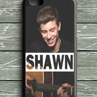 Shawn Mendes Playing Guitar iPhone 6 Plus Case