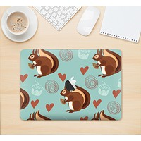 """The Vector Love & Nuts Squirrel Skin Kit for the 12"""" Apple MacBook (A1534)"""