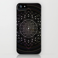 String Theory 001 iPhone Case by Robert McElaney for Ctrl Alt Design | Society6