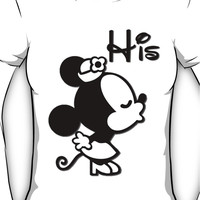 Disney Couples Shirt: His and Hers Women's T-Shirt