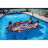WOW World of Watersports 12-2030, Inflatable Floating Water Walkway, 10 x 6 Feet, 1 to 6 People