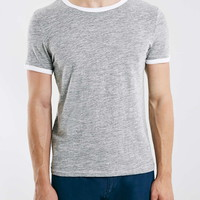 Grey Textured Ringer - New This Week - New In
