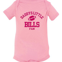 Daddys Little Bills Fan Toddler And Youth T-Shirt Buffalo Fans Printed Tee for Kids Creepers & T-Shirts. Makes a Great Gift!!