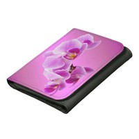Orchids Small Faux Leather Wallet