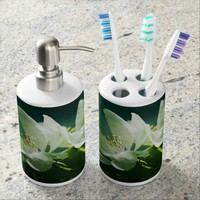 Apple Blossom - Two Flowers Bath Set