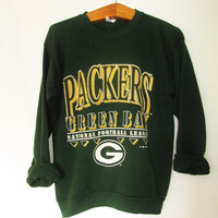 Vintage 1990's Green Bay Packers National Football League Sweatshirt