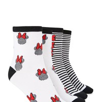 Minnie Mouse Crew Sock Set