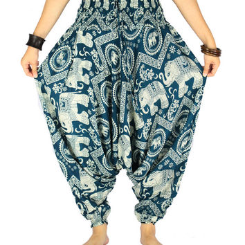 Unisex boho Hippie clothes Yoga pants Harem pants Hippie pants Gypsy pants  Elephant pants Palazzo pants Elephant clothes