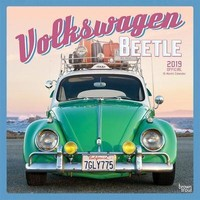 Volkswagen Beetle Wall Calendar, Cars by BrownTrout