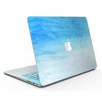 Blotted Blues Absorbed Watercolor Texture - MacBook Air Skin Kit