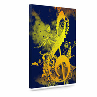 "Federic Levy-Hadida ""Sound of Nature"" Rainbow Music Canvas Art"
