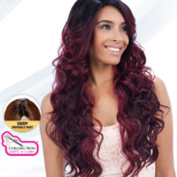 Freetress Equal Tanzie Deep Invisible Part Lace Front Wig