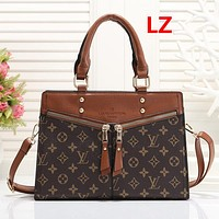 Louis Vuitton LV Women Leather Fashion Handbag Tote Shoulder Bag Satchel