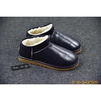 Australia UGG LOW TOP Boots Gold Black For Women