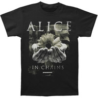 Alice In Chains Men's  Daisy Hands T-shirt Black