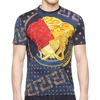 Versace 2020 new men's round neck half sleeve shirt