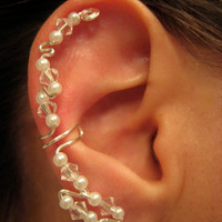 Hunger Games District 1 Ear Cuff with Swarovski Crystals