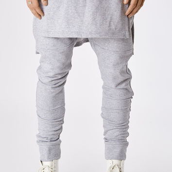 TR053 Layered Joggers - Grey