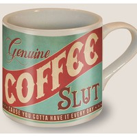 Coffee Slut Coffee Mug