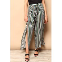 Stripe Away Split Pant