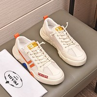 prada men fashion boots fashionable casual leather breathable sneakers running shoes 51