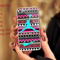 Aztec Nike Jordan Mint Print on cover for Samsung Galaxy and iPhone case. Select an option for device and colour