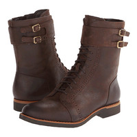 Rockport Alanda Brogue Boot Lace-up w/ Double Strap